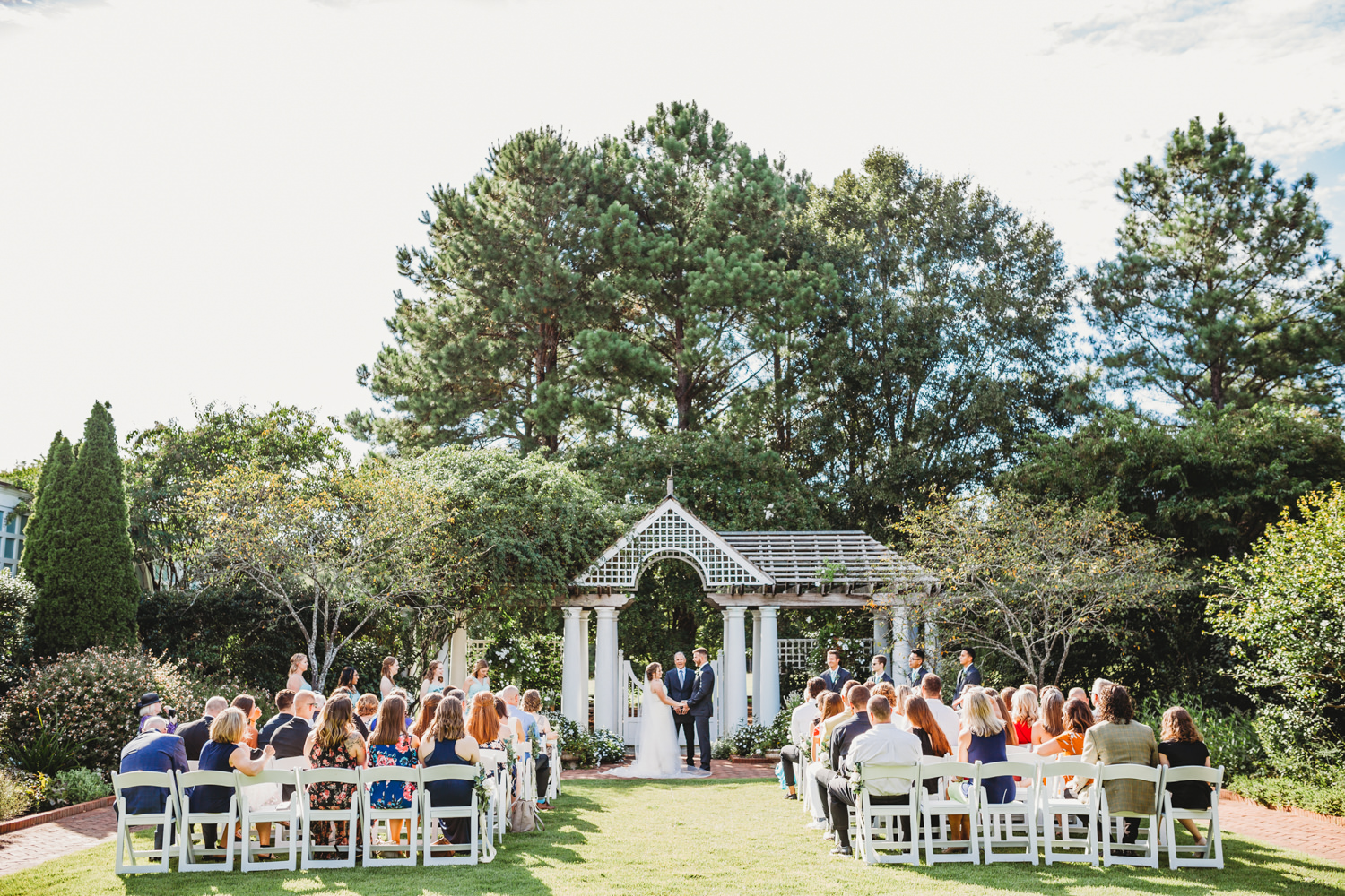 Daniel Stowe Botanical Garden wedding, Daniel Stowe garden wedding, Charlotte wedding photographer, Charlotte North Carolina wedding photographer, Wedding Venues Charlotte North Carolina, Garden Wedding, Charlotte North Carolina Wedding, Downtown Charlotte Wedding, Charleston Wedding Photographer, North Carolina Elopement Photographer, wedding photography, wedding inspiration, wedding photos, wedding ceremony outdoor, wedding ceremony decorations, wedding ceremony kiss, wedding ceremony photos