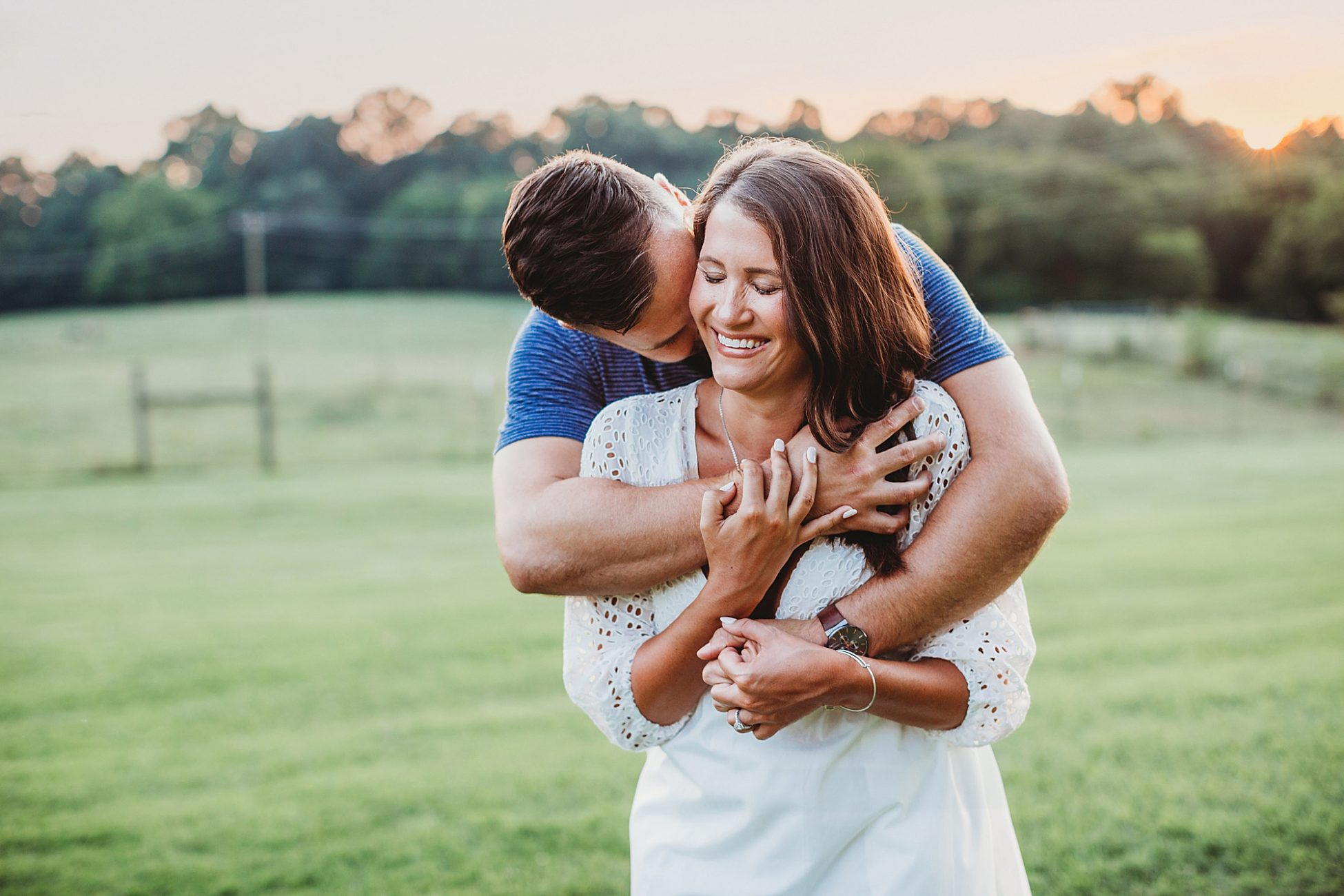 Annie Springs Close Greenway Engagement Session